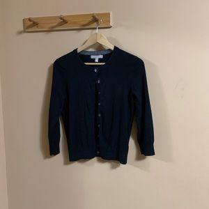 Petite Banana Republic Silk Blend Cardigan Sweater